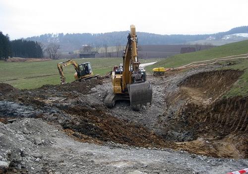 15.04.2013: Sicherung im Bereich Knobelberg abgeschlossen