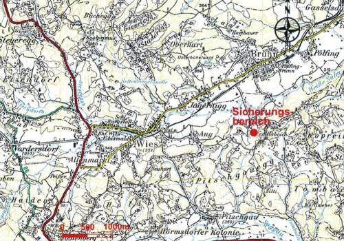 Erdfall in Pölfing Brunn: Arbeiten abgeschlossen