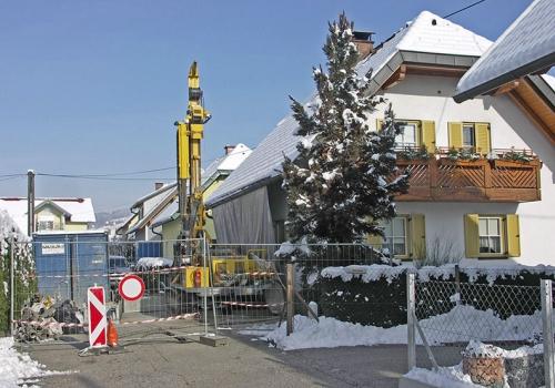 13.01.2013: Sicherungsarbeiten im Raum Wolfsberg abgeschlossen