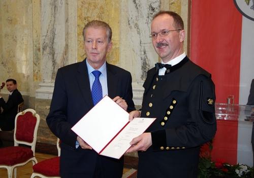 """07.03.2014: Titel """"Bergrat h.c."""" an GKB-Vorstand verliehen"""