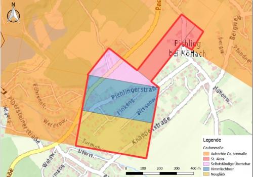 Löschung von Grubenfeldern im Bergbaugebiet Köflach-Pichling