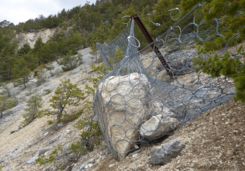 Bergbau Bleiberg-Kreuth: Sanierung Steinschlag Fuggertalpinge
