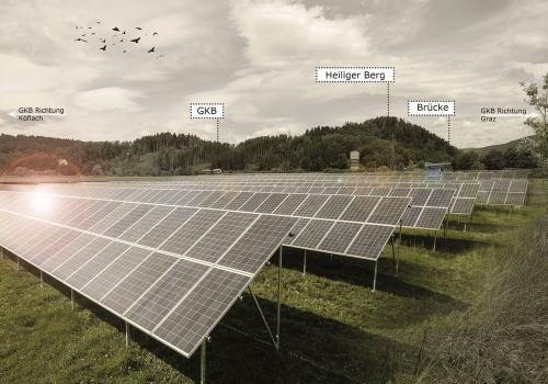 Karlschacht II: Auf Kohle folgt Sonne