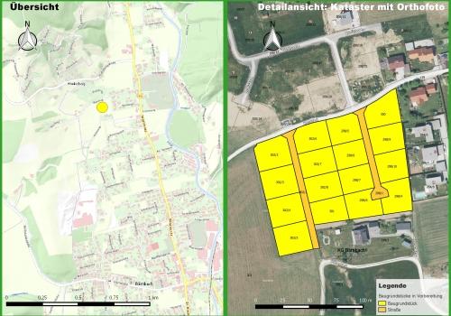 Bärnbach: Traumhafte Baugründe südlich des Moosweges in Vorbereitung