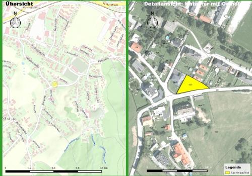 Köflach: Bergweg in Pichling, Baugrundstück