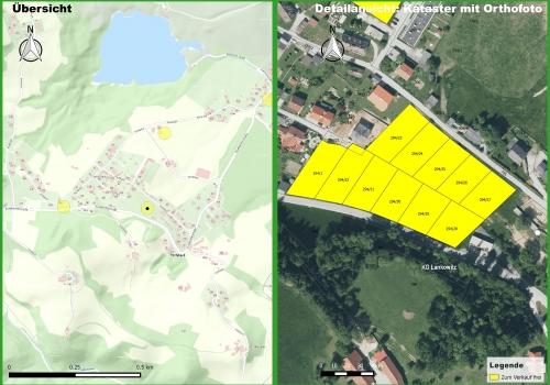 Maria Lankowitz: Attraktive Bauparzellen, Puchbachstraße