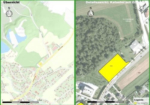 Köflach: Gewerbegrundstück an der B70 gelegen